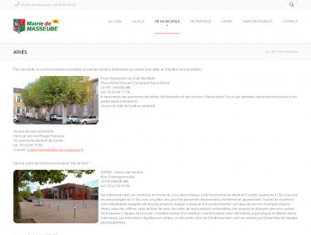 Aînés | Mairie de Masseube, Gers