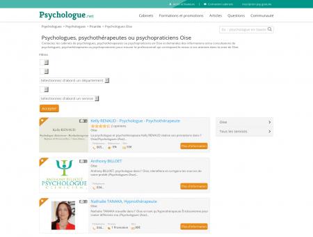 Psychologues Oise - Psychologue.net