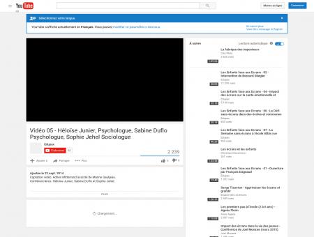 Vidéo 05 - Héloïse Junier, Psychologue, Sabine...