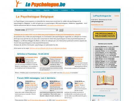 Le Psychologue Belgique
