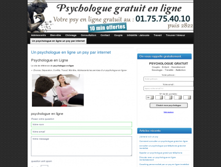 Un psychologue en ligne un psy par internet