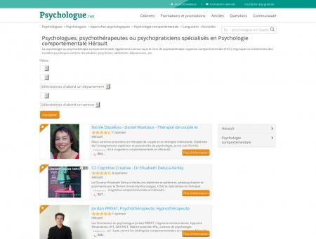 Psychologie comportementale Hérault -...