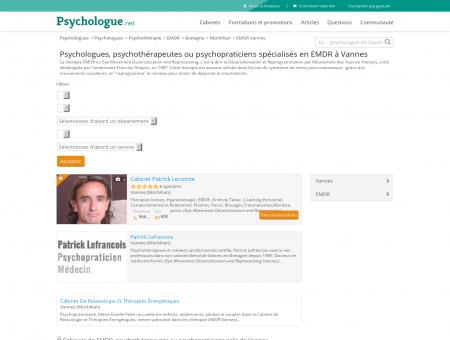 EMDR Vannes - Psychologue.net