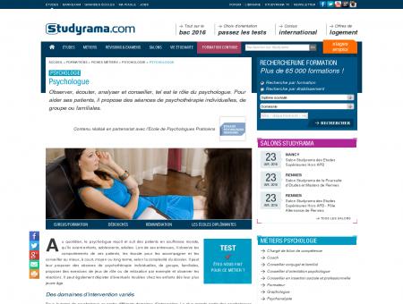 Psychologue | Psychologie | Fiches métiers |...