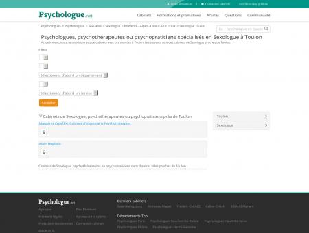 Sexologue Toulon - Psychologue.net -...