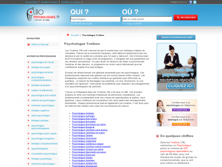 Psychologue Yvelines 78 - Psychologue -...