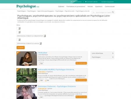 Psychologue Port-Saint-Père - Psychologue.net