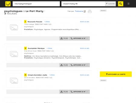 psychologues à Le Port Marly - PagesJaunes :...