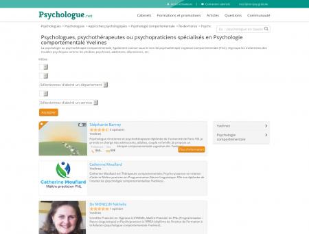 Psychologie comportementale Yvelines -...