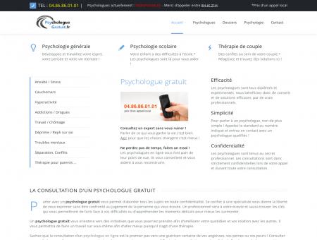 Psychologue Gratuit - En ligne 7J/7