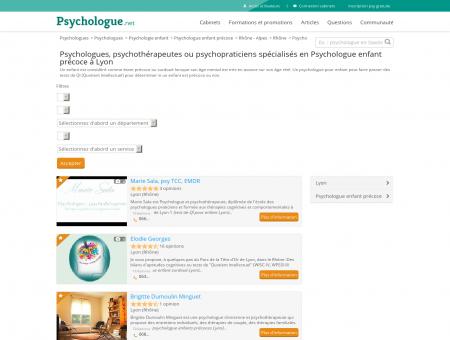Psychologue enfant précoce Lyon -...