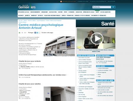 Centre médico-psychologique Antonin-Artaud...