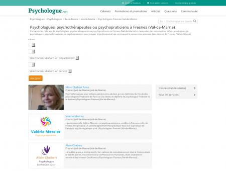 Psychologues Fresnes (Val-de-Marne) -...