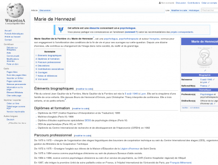 Marie de Hennezel  Wikipédia