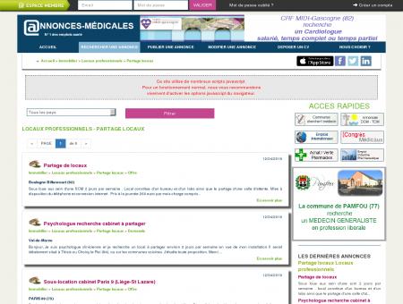 Partage locaux Locaux professionnels -...