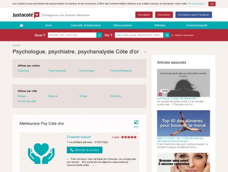 Psychologue Côte d'or 21