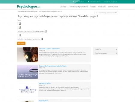 Psychologues Côte-d'Or - Pages 2 -...