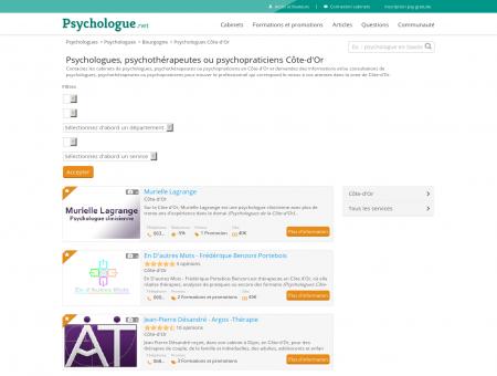 Psychologues Côte-d'Or - Psychologue.net