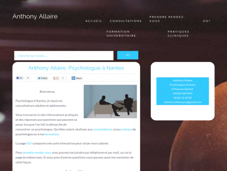 Anthony Allaire - Psychologue, Nantes