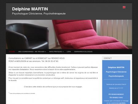 Cabinet Delphine MARTIN Psychologue Pont-à...
