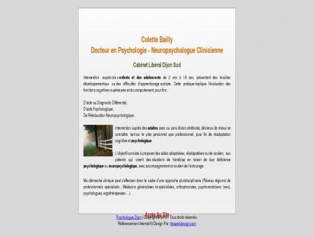 Colette Bailly - Psychologue et...