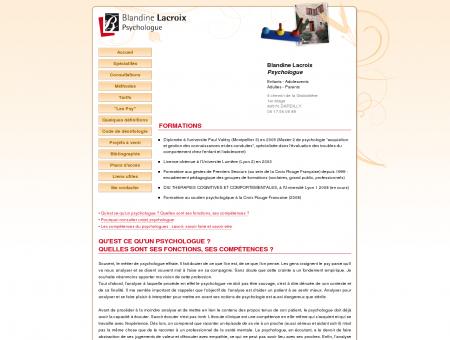 Blandine Lacroix - Psychologue