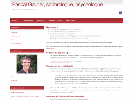Pascal Gautier, sophrologue, psychologue