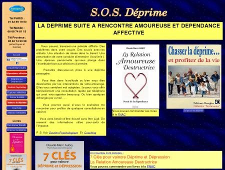 SOS déprime suite à rencontre amoureuse et...