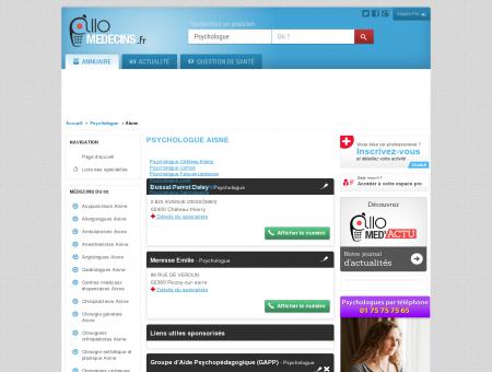 Psychologue Aisne - Médecin - Annuaire des...