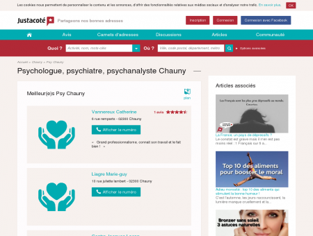 Psychologue Chauny 02300 - Guide des...