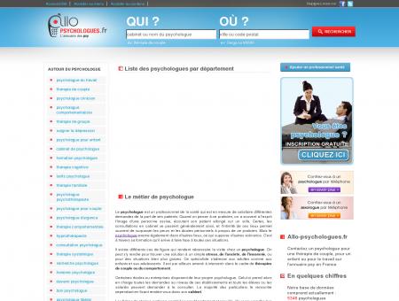 Psychologue - Annuaire de la psychologie et...