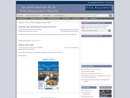 Informations utiles : Villa Beausoleil Chaville,...
