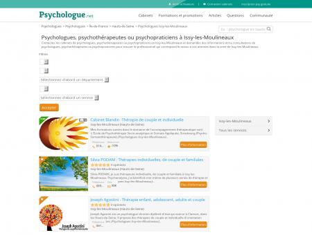 Psychologues Issy-les-Moulineaux -...