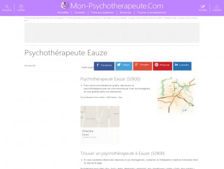 psychologue eauze