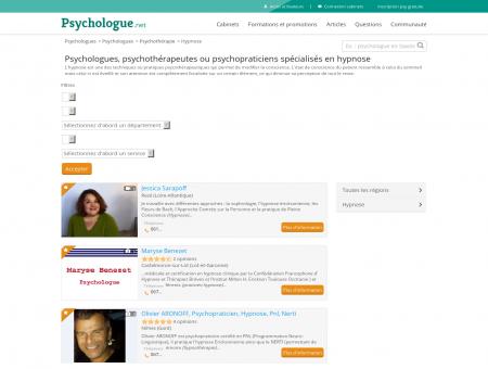 Hypnose - Psychologue.net