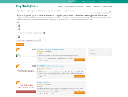 Hypnose Essonne - Psychologue.net -...