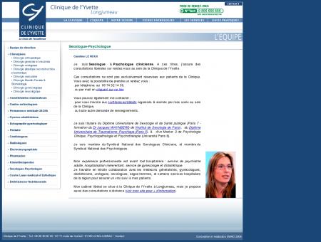 Sexologue-Psychologue - Clinique de l'Yvette...