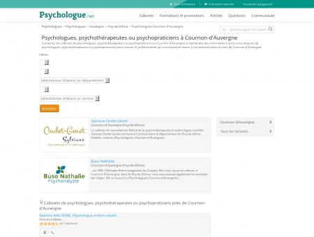 Psychologues Cournon-d'Auvergne -...