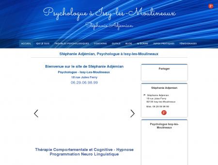 Stéphanie Adjemian, Psychologue à Issy-les...