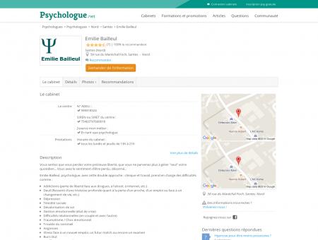 Emilie Bailleul - Psychologue.net -...