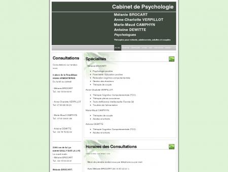 Mélanie BROCART - Psychologue...