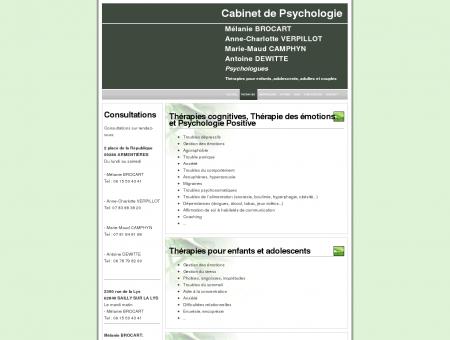 Psychologue - Lille, Armentières, Bailleul,...