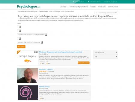 PNL Aubière - Psychologue.net -...