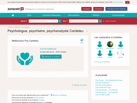 Psychologue Canteleu 76380 - Guide des...