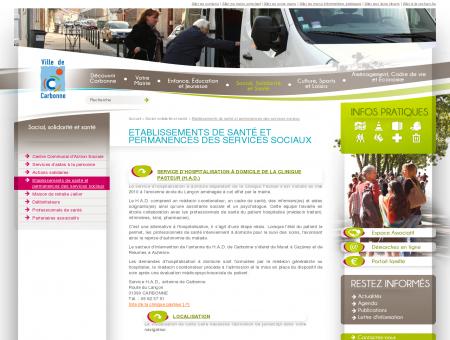Mairie de Carbonne - Etablissements de santé...