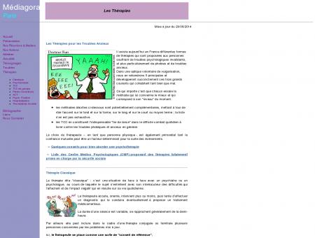 MEDIAGORA PARIS - Les Différentes Thérapies