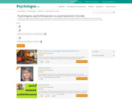psychologue b�gles