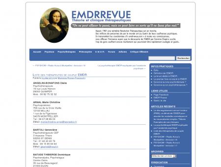 Liste des thérapeutes de couple EMDR | EMDR...