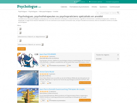 Anxiété - Psychologue.net