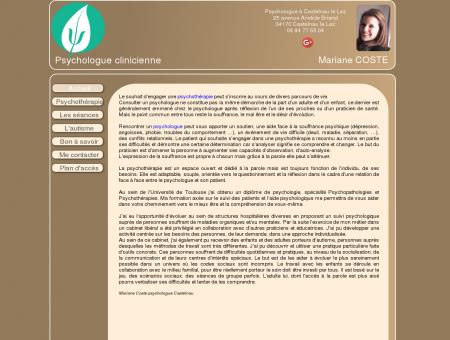 Mariane Coste Psychologue Castelnau le Lez...
